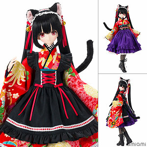 Black Raven Series Lilia -Taisho Roman- Black Cat 1/3 Complete Doll