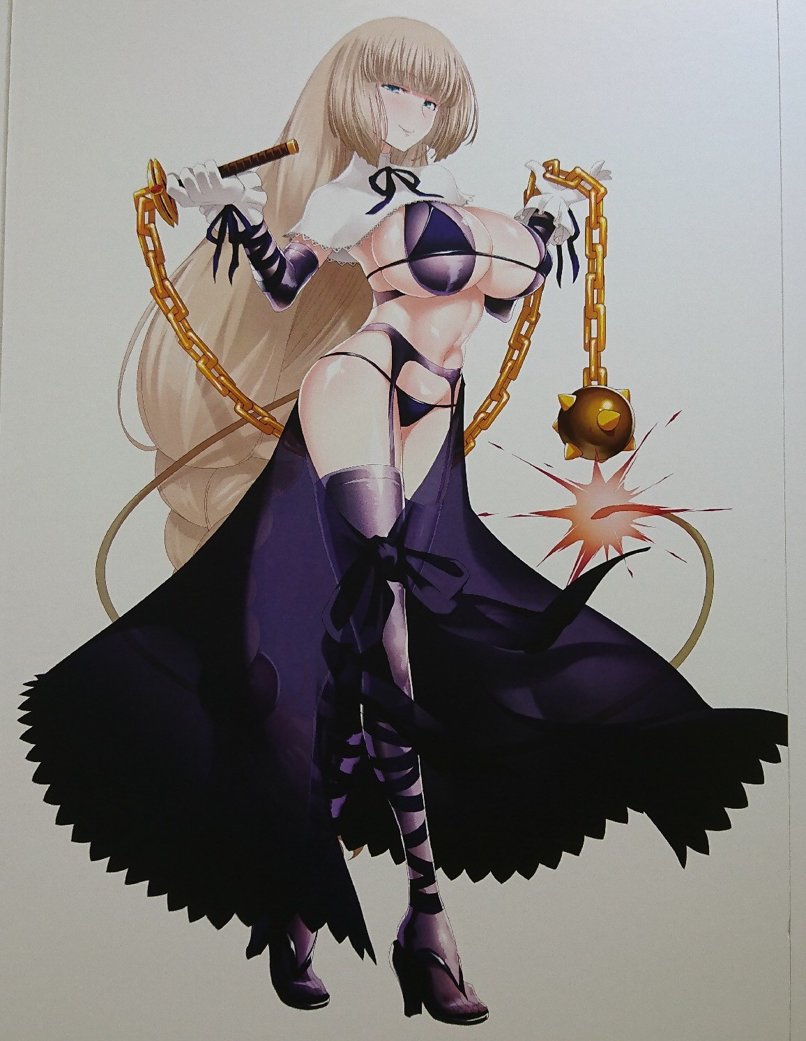 Sepia's figure artwork